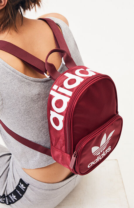 super popular 47e67 7887e New Arrival. Burgundy Originals Santiago Mini Backpack