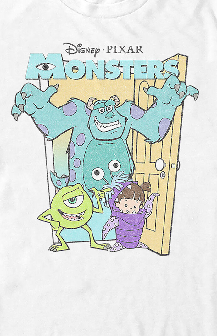Monsters Inc Group Poster T-Shirt