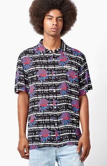 Shredder Short Sleeve Button Up Camp Shirt