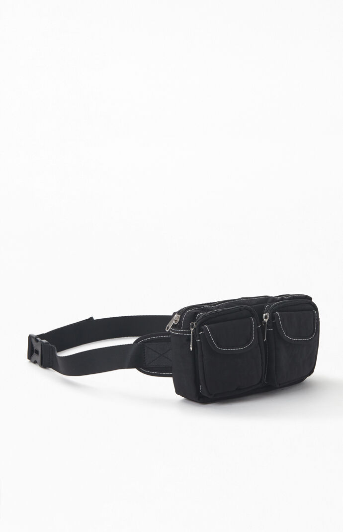 Stitched Pocket Fanny Pack