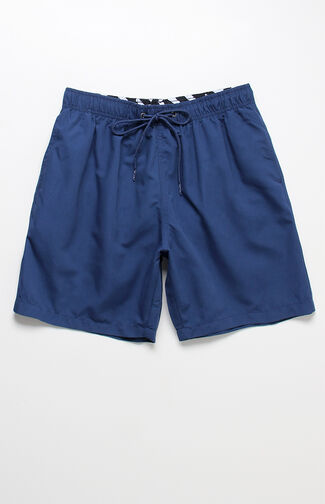 "Solid Volley Navy 16"" Swim Trunks"