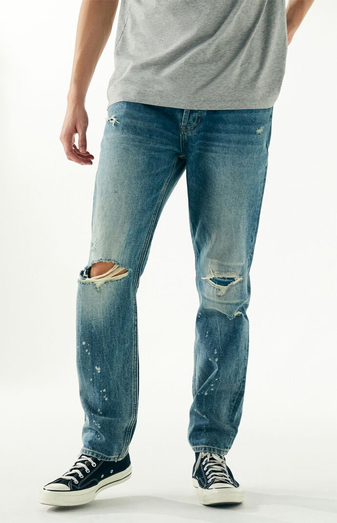 Medium Ripped Vintage Loose Jeans