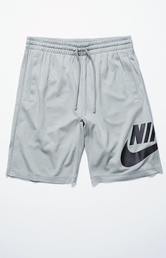 Nike SB Mens Dri-FIT Sunday Drawstring Active Shorts - Grey/black 5926183