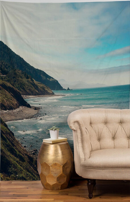 California Pacific Highway Tapestry