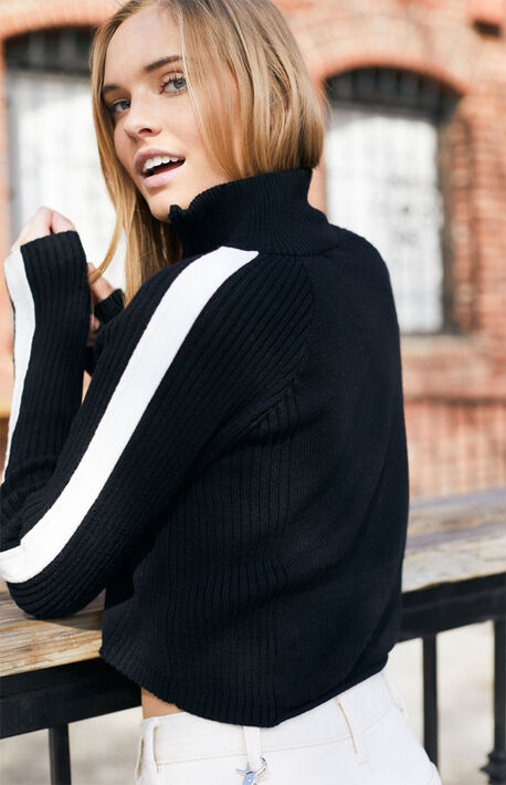 Hilary Half Zip Sweater