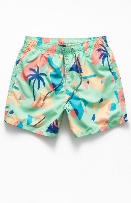 Overlay Swim Trunks