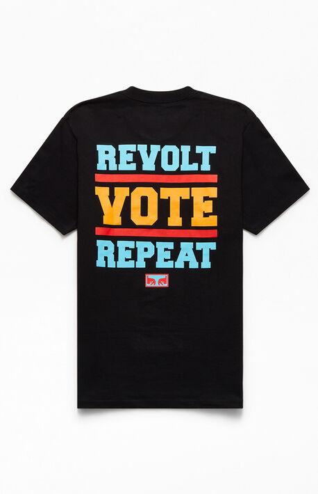 Revolt Vote Repeat T-Shirt