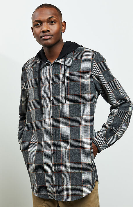 Willow Hooded Flannel Shirt