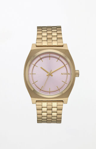 Time Teller Pink & Gold Watch