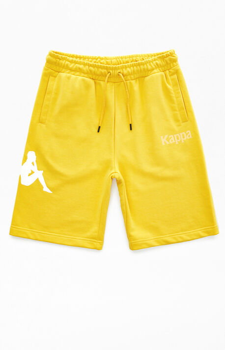 Yellow Authentic Sangone Sweat Shorts