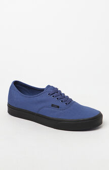 Authentic Black Sole Navy Shoes