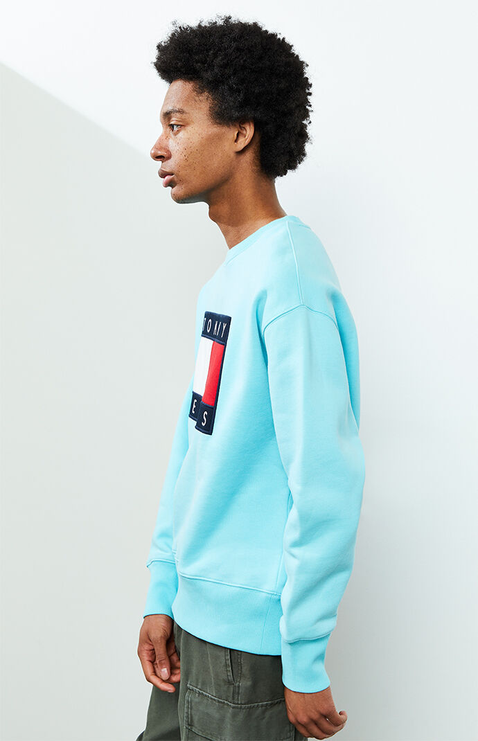 Flag Logo Crew Neck Sweatshirt