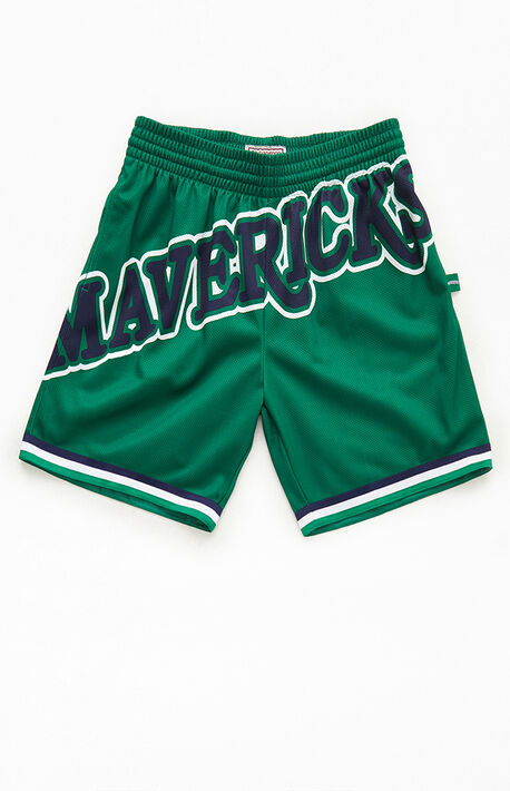 Mavericks Blown Out Basketball Shorts