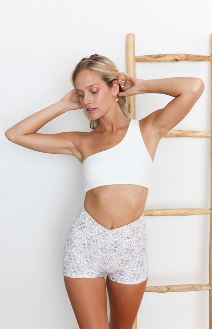 Eco Harmony One Shoulder Sports Bra