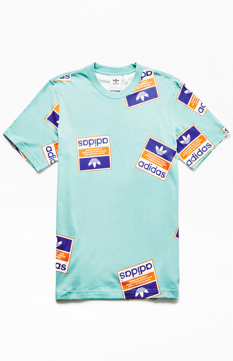 c5946e5d2ed Blue Stickerbomb T-Shirt