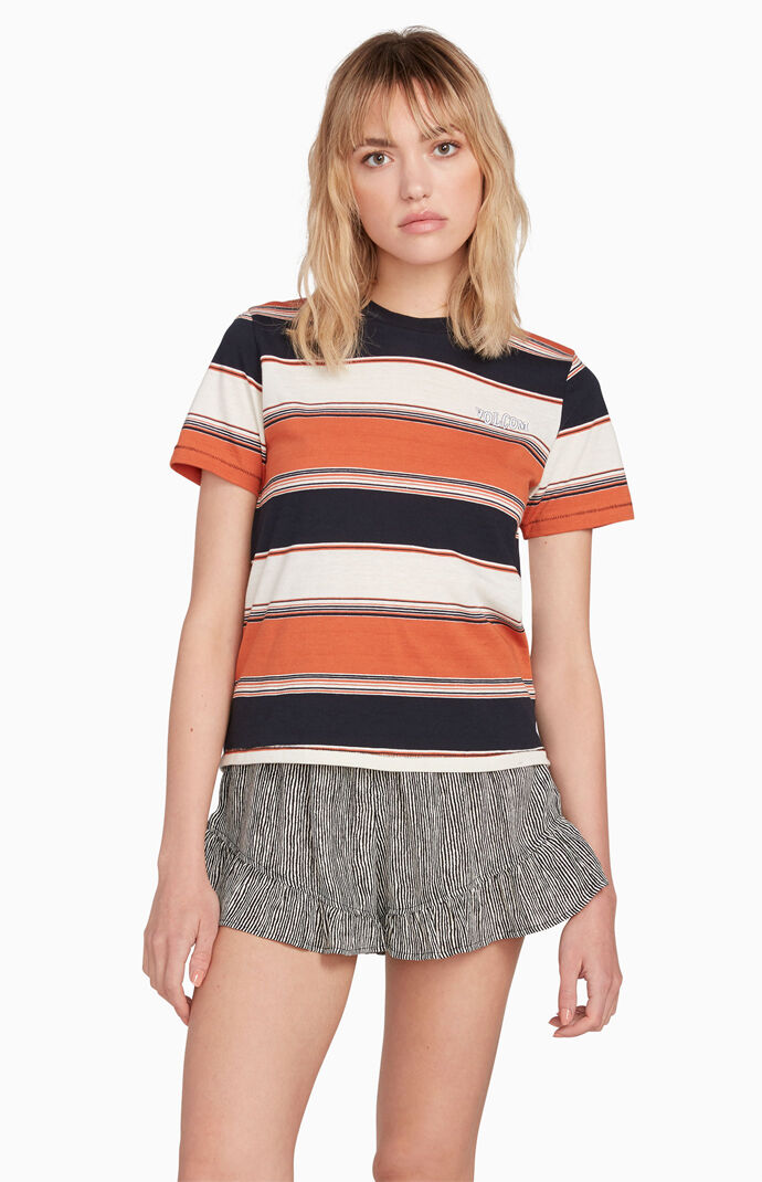 Chromatic Striped T-Shirt