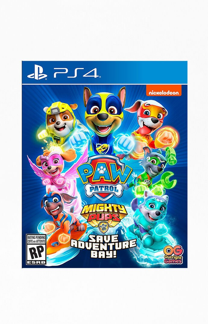 Paw Patrol: Mighty Pups Save Adventure Bay PS4 Game