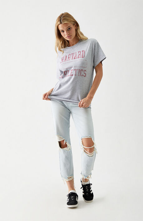 Harvard Athletics Boyfriend T-Shirt