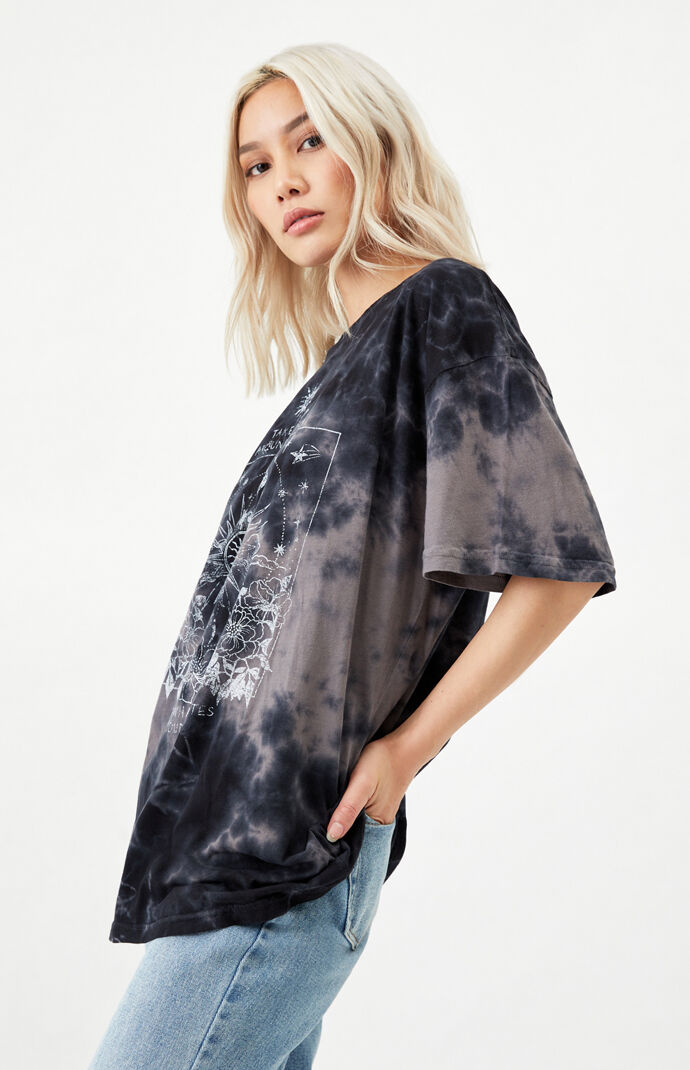 Tie-Dyed Sun & Spirit Oversized T-Shirt