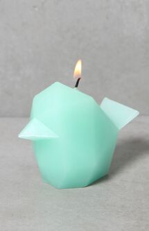 Mint Green Bibi Bird Candle