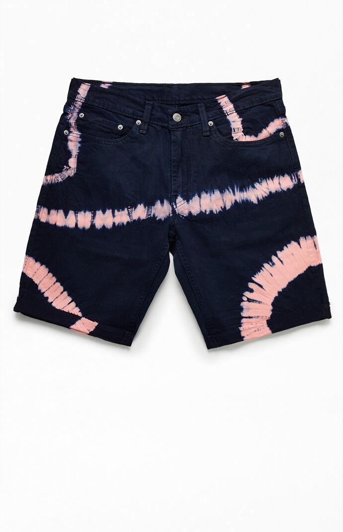511 Tie-Dyed Cut-Off Denim Shorts