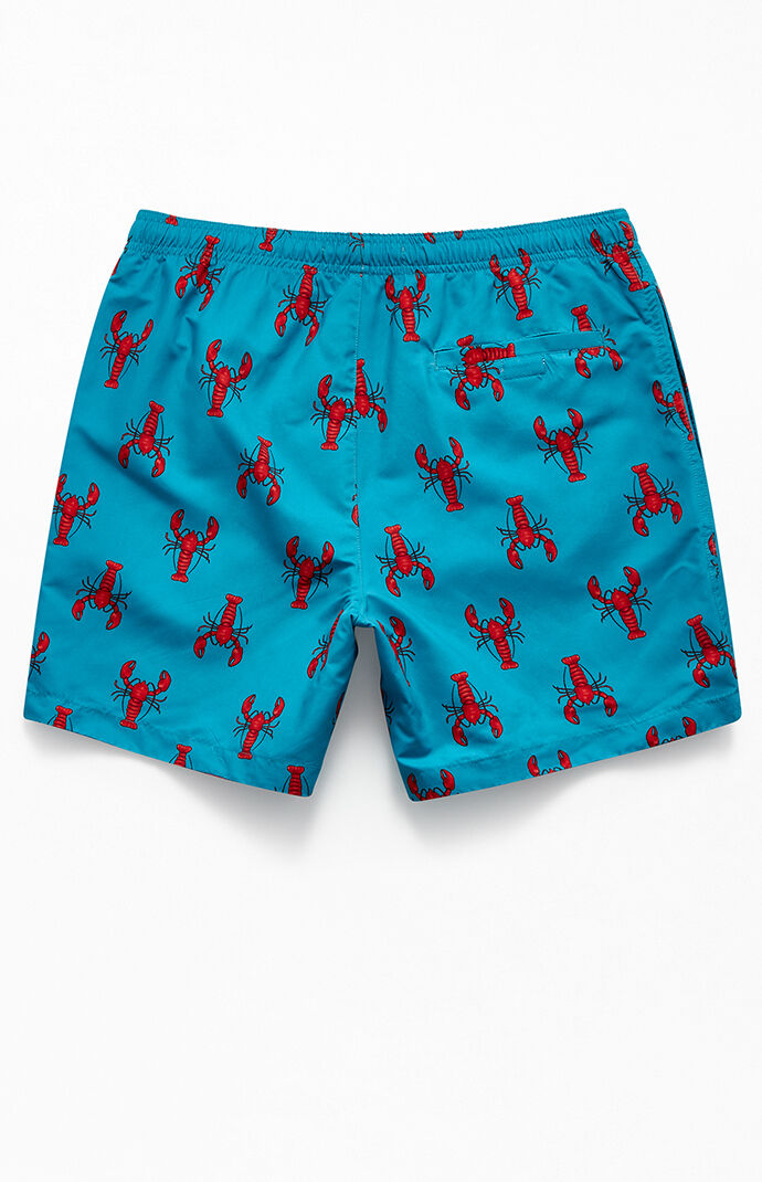 "Lobsters 17"" Swim Trunks"
