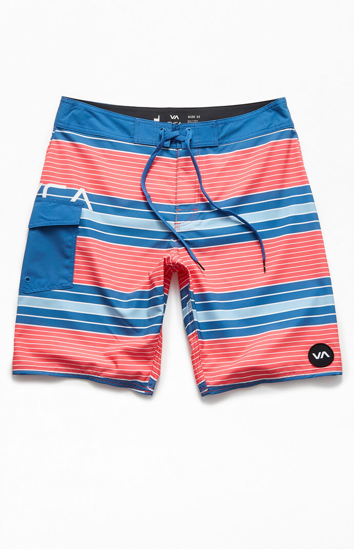 "Uncivil Stripe 20"" Boardshort"