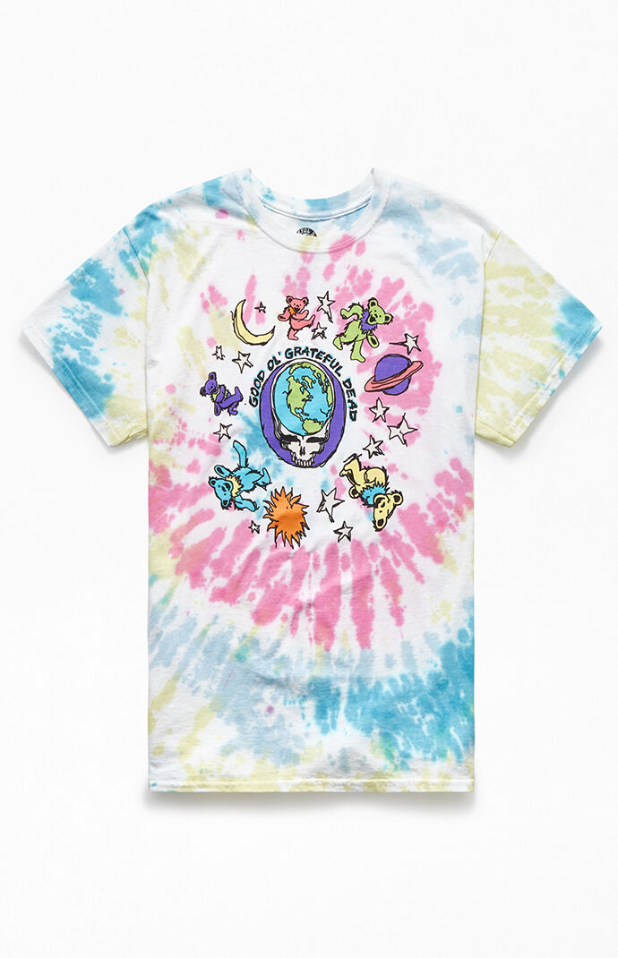 Grateful Dead Tie-Dyed T-Shirt