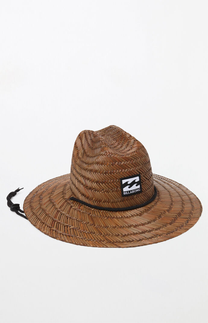 Billabong Tides Straw Lifeguard Hat At Pacsuncom