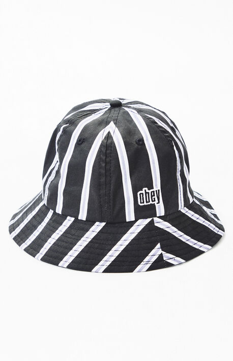 038ecba4828 Carmel Stripe Bucket Hat