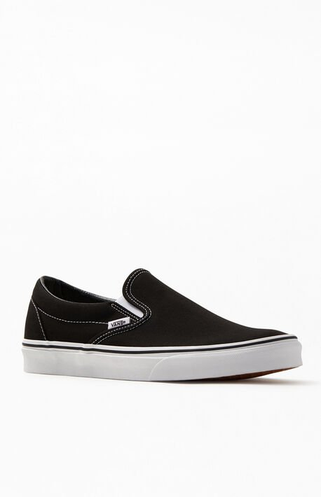 Classic Slip-On Black Shoes