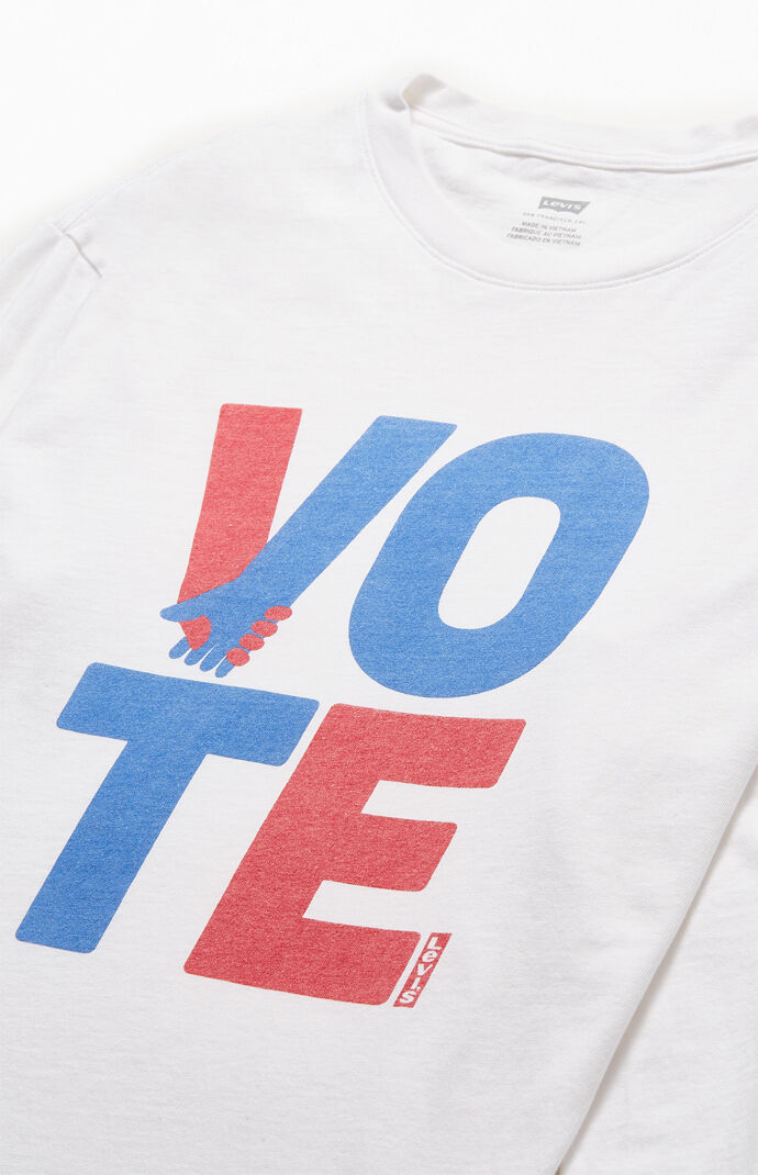 Relaxed Vintage Vote Long Sleeve T-Shirt