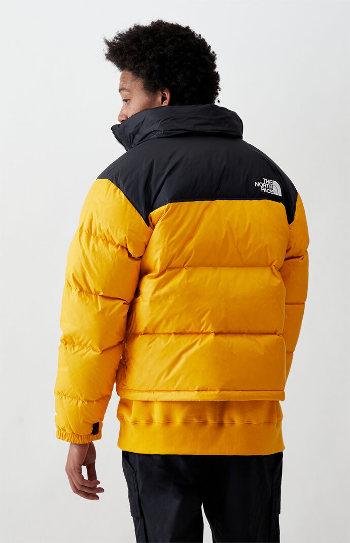 Gold 1996 Retro Nuptse Puffer Jacket