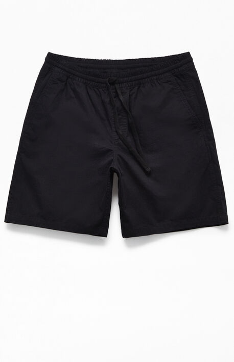 Black Range Drawstring Shorts