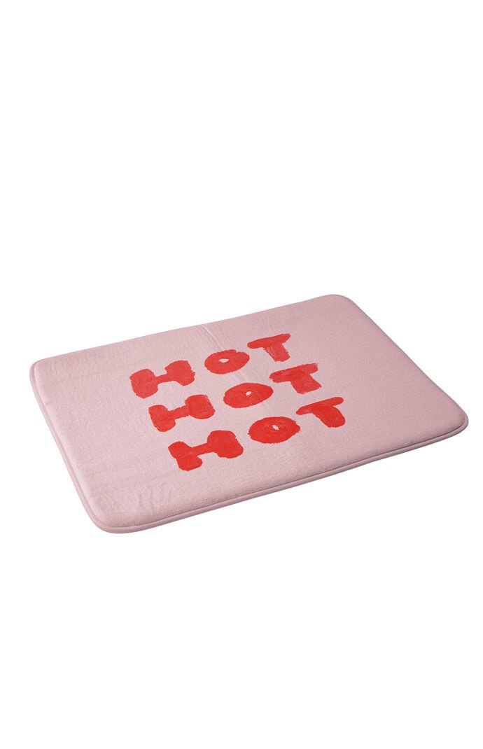 Hot Hot Hot Memory Foam Bath Mat