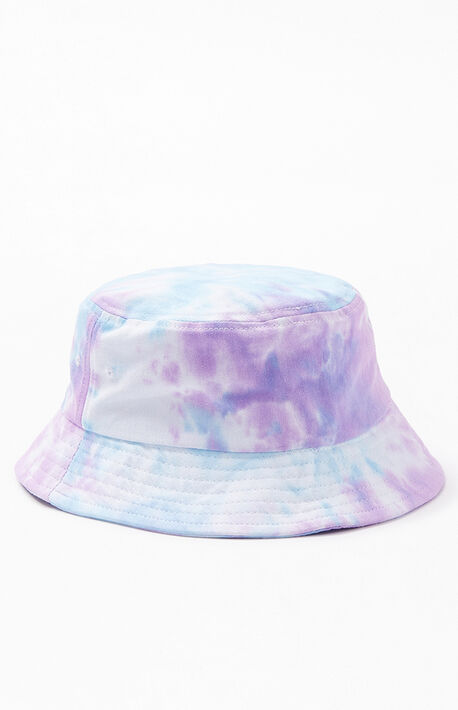 17087cdc8d384 Tie-Dye Washed Bucket Hat