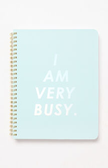 I Am Very Busy Rough Draft Mini Notebook