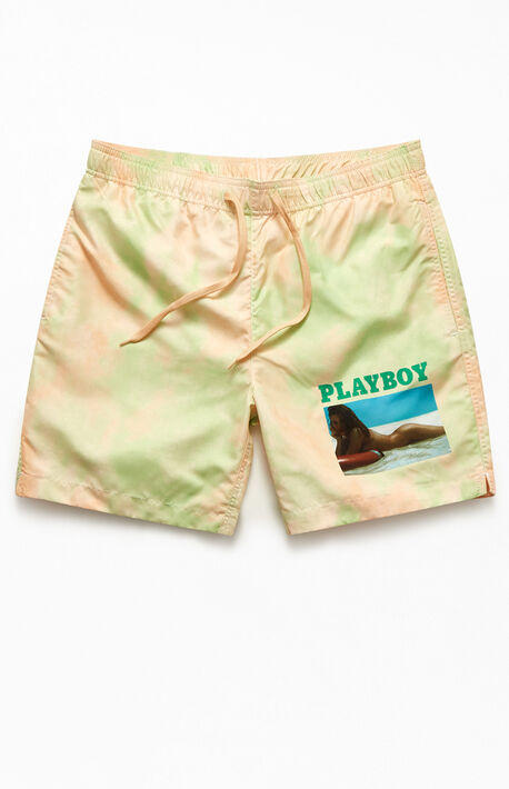 "By PacSun Sunny Side Up 17"" Swim Trunks"