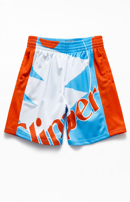 Clippers Big Face Basketball Shorts