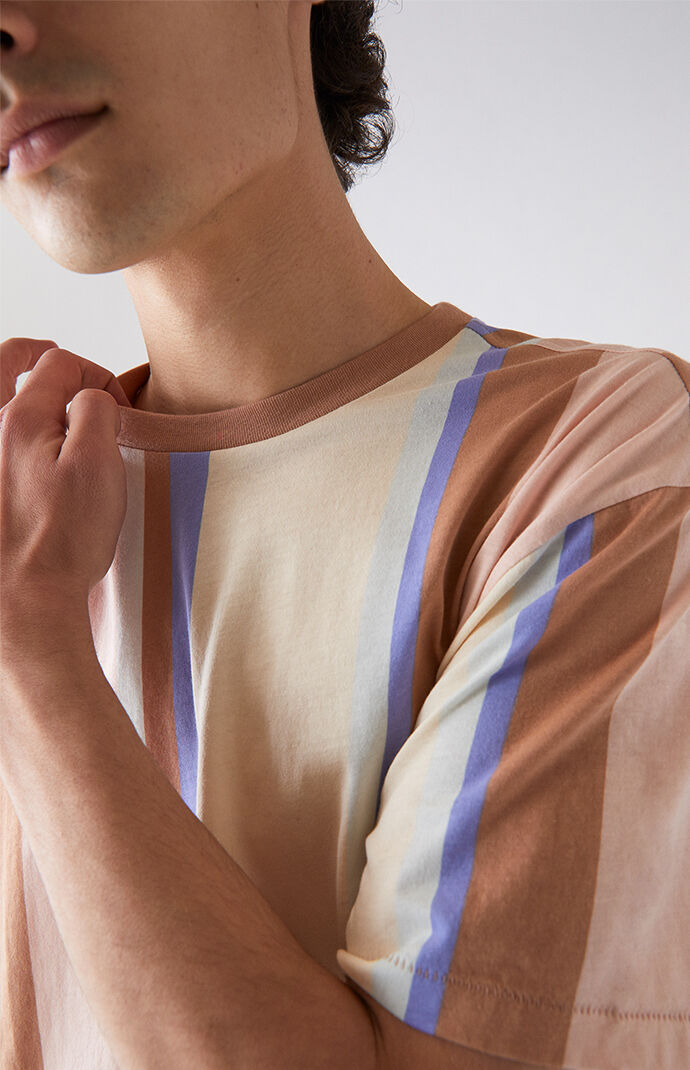 King Vertical Striped T-Shirt