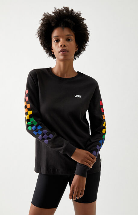 Prism Checker Long Sleeve T-Shirt