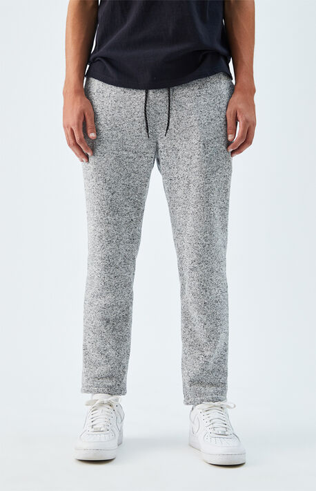 Heather Gray Menswear Trouser Pants