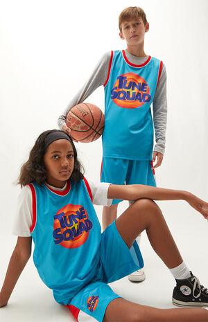 Kids Space Jam Tune Square Jersey Shirt
