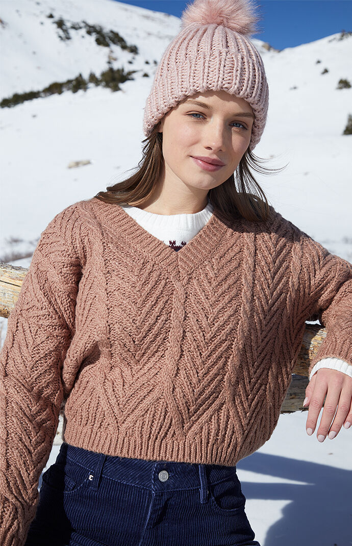 Isabel V-Neck Sweater