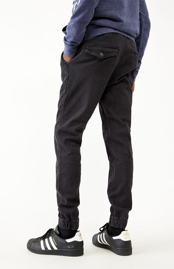 Vintage Denim Jogger Pants