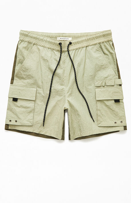 Julio Military Nylon Shorts