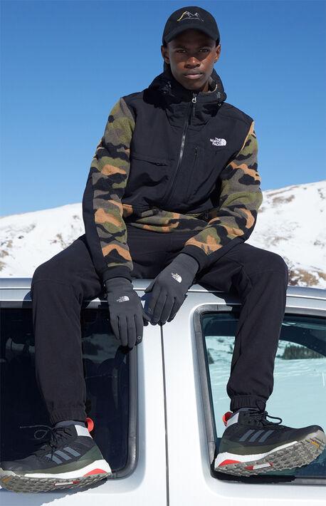 Camouflage Denali Fleece Anorak