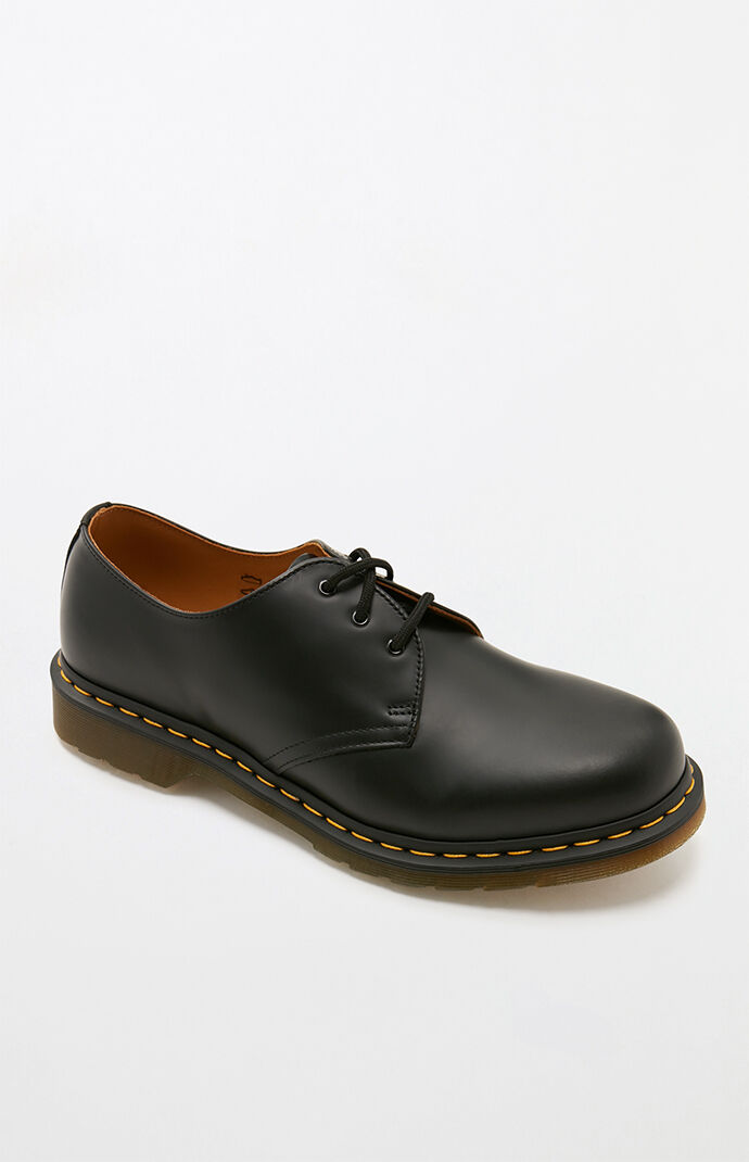 1461 Smooth Leather Black Shoes