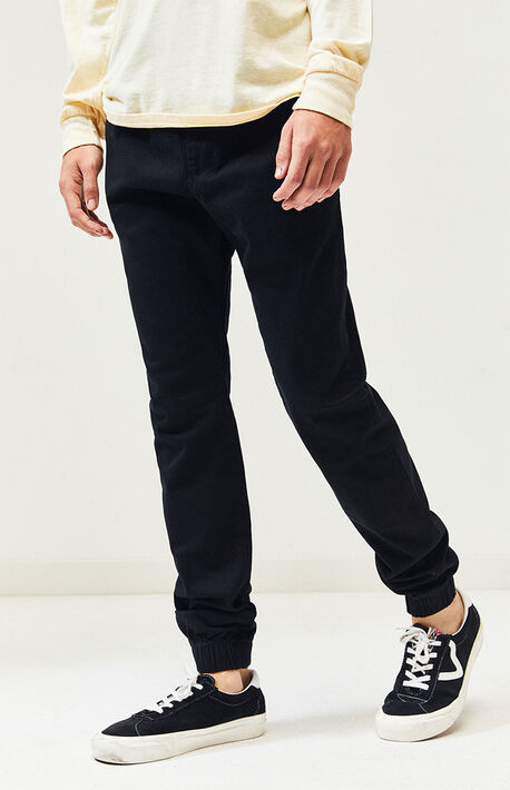 Black Sureshot Jogger Pants