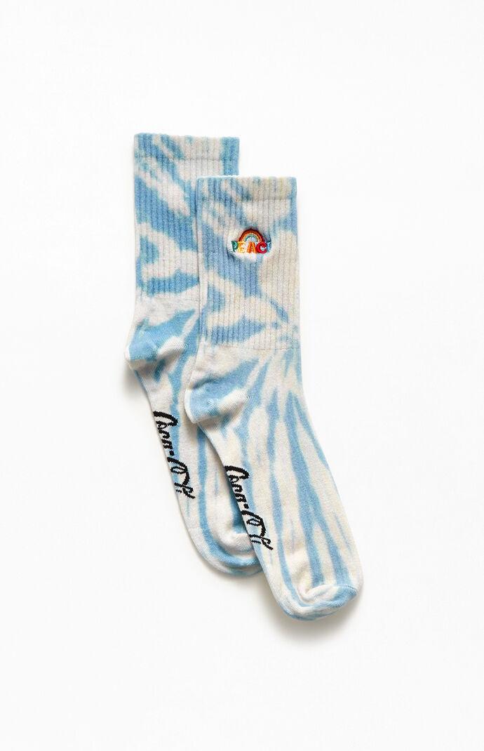 x Coca-Cola Peace Rainbow Socks
